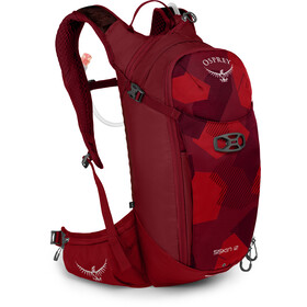Osprey Siskin 12 Hydration Backpack Molten Red